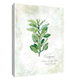 PTM Images 12 in. x 10 in. ''Fresh Oregano'' Canvas Wall Art