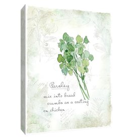 PTM Images 12 in. x 10 in. ''Fresh Parsley'' Canvas Wall Art