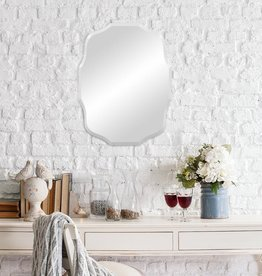 Pinnacle Small Oval Beveled Glass Mirror (15 in. H x 20 in. W)