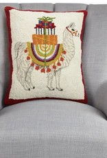 Holiday Llama Hook Pillow