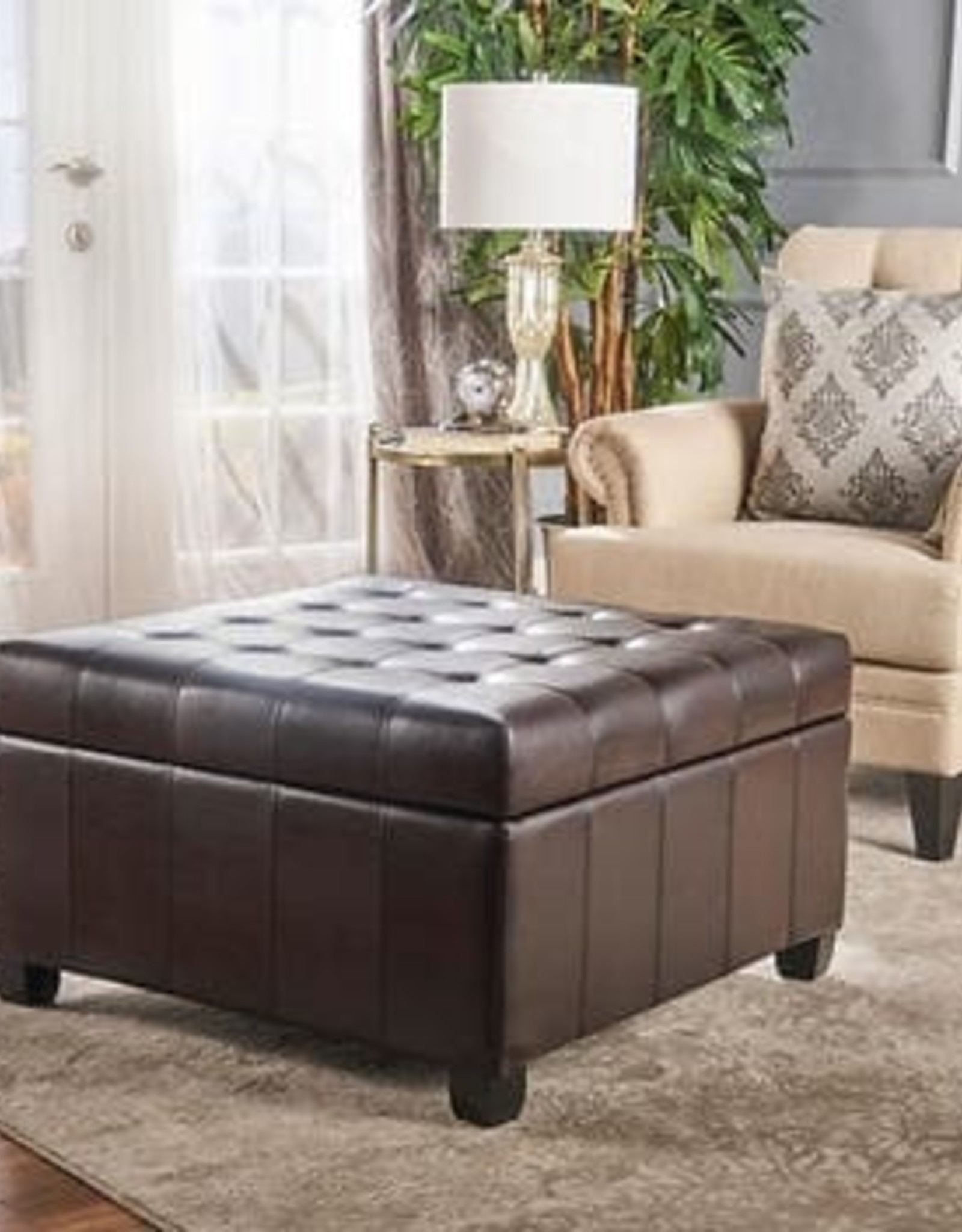 NOBLE HOUSE HOME Isabella Storage Ottoman
