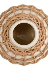 Made Market Co. Rattan Vase