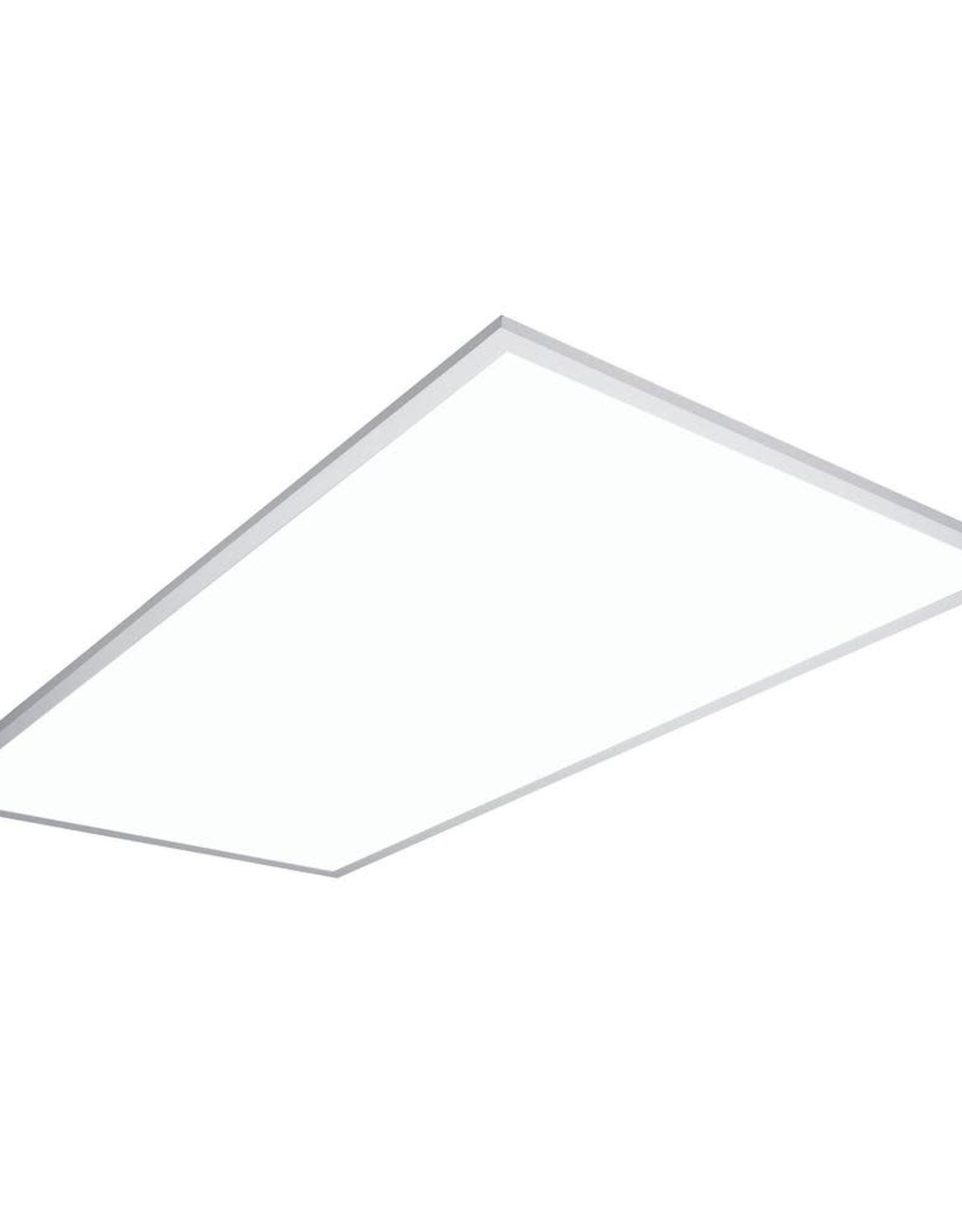 Metalux 2 ft. x 4 ft. White Integrated LED Dimmable Flat Panel Light with Selectable Color Temperature