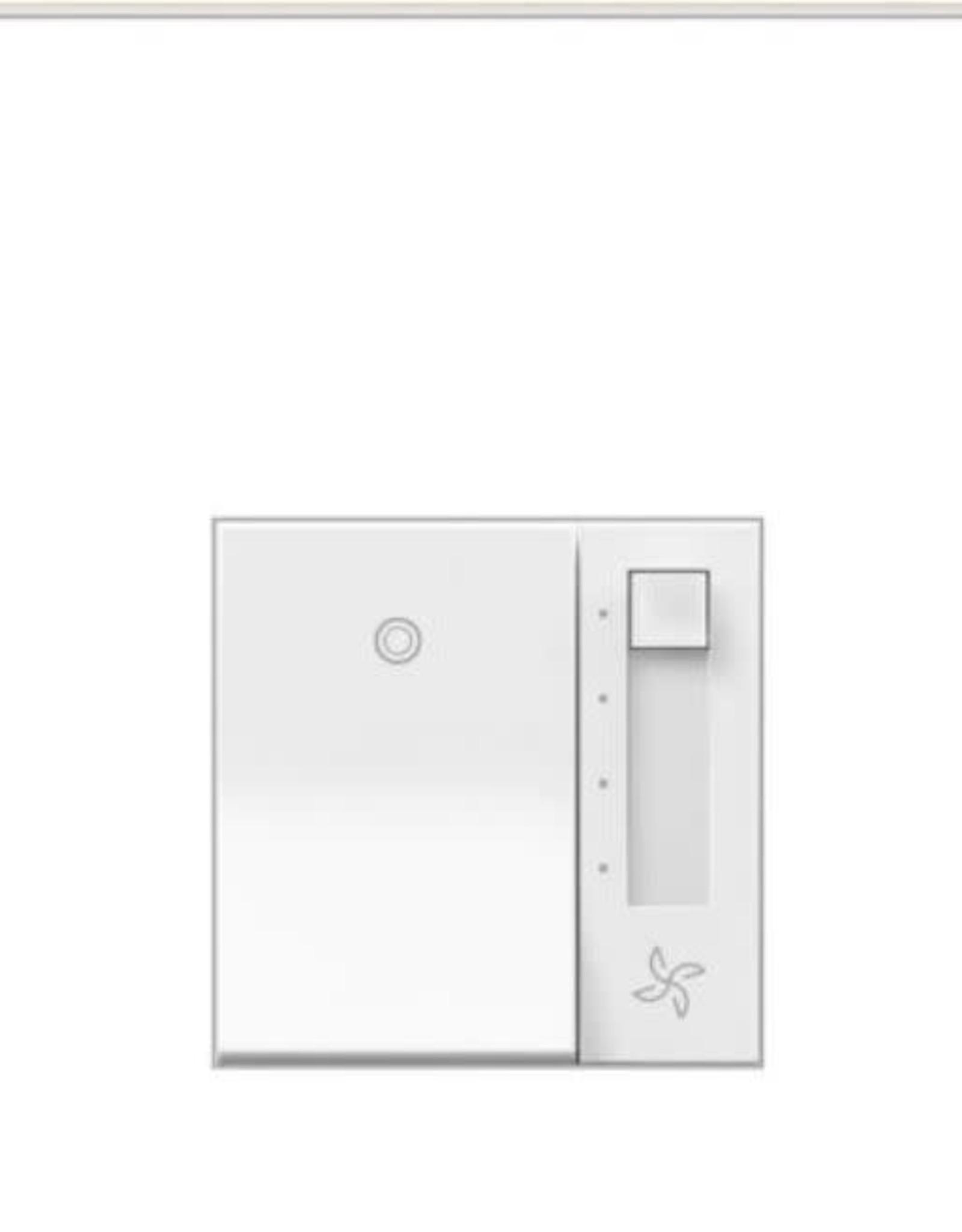 Legrand adorne Paddle 1.6 Amp 4-Speed Fan Control, White