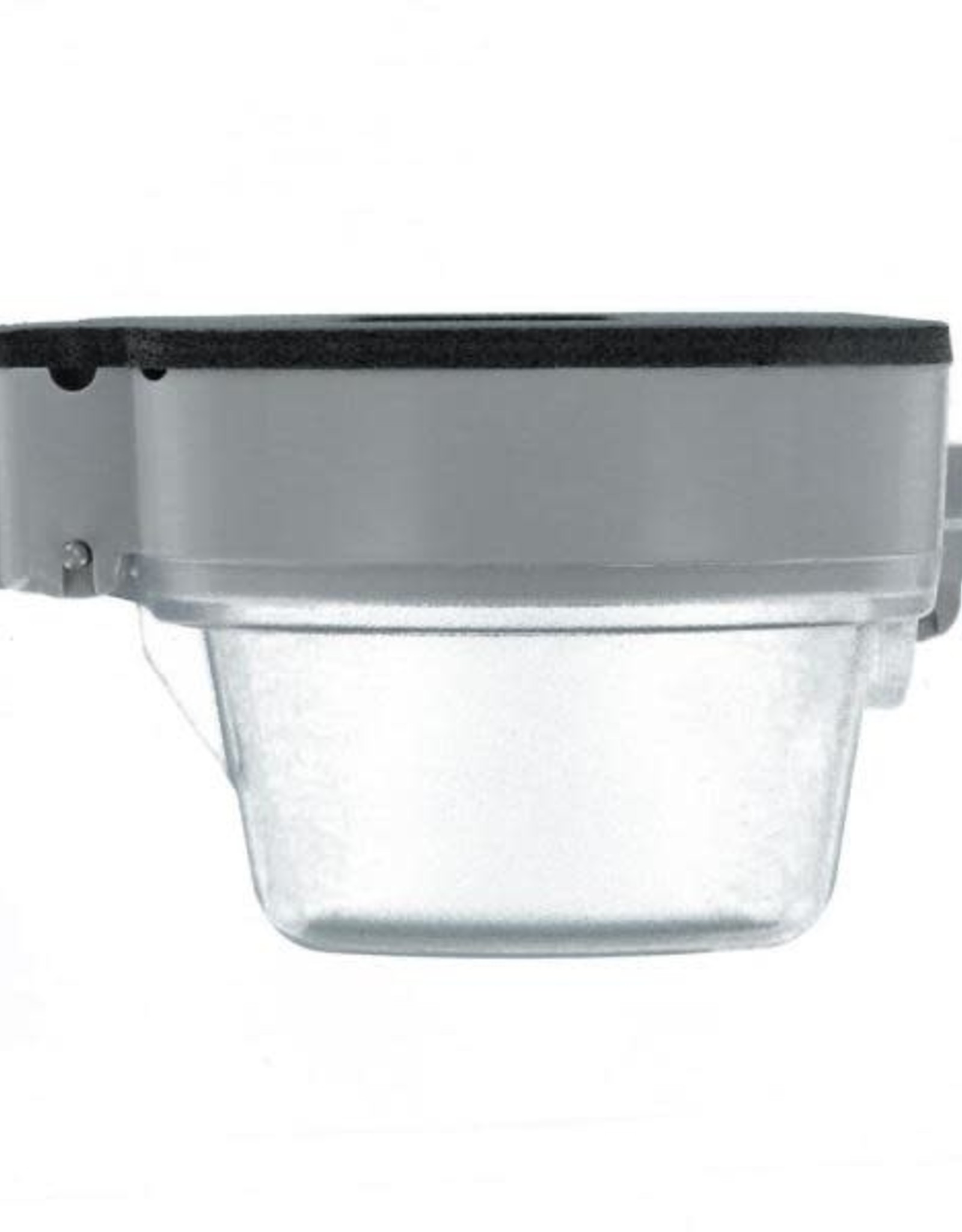 Leviton Decora/GFCI 1-Gang Extra Heavy Duty Raintight While-In-Use Device Mount Horizontal Cover with Lid, Clear