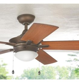 Home Decorators Collection Edgemont 52 in. LED Indoor Espresso Bronze Ceiling Fan with Light Kit