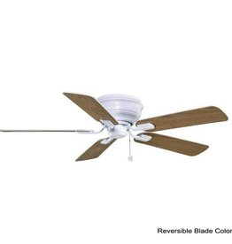 Hampton Bay Hawkins 44 in. Indoor White Ceiling Fan