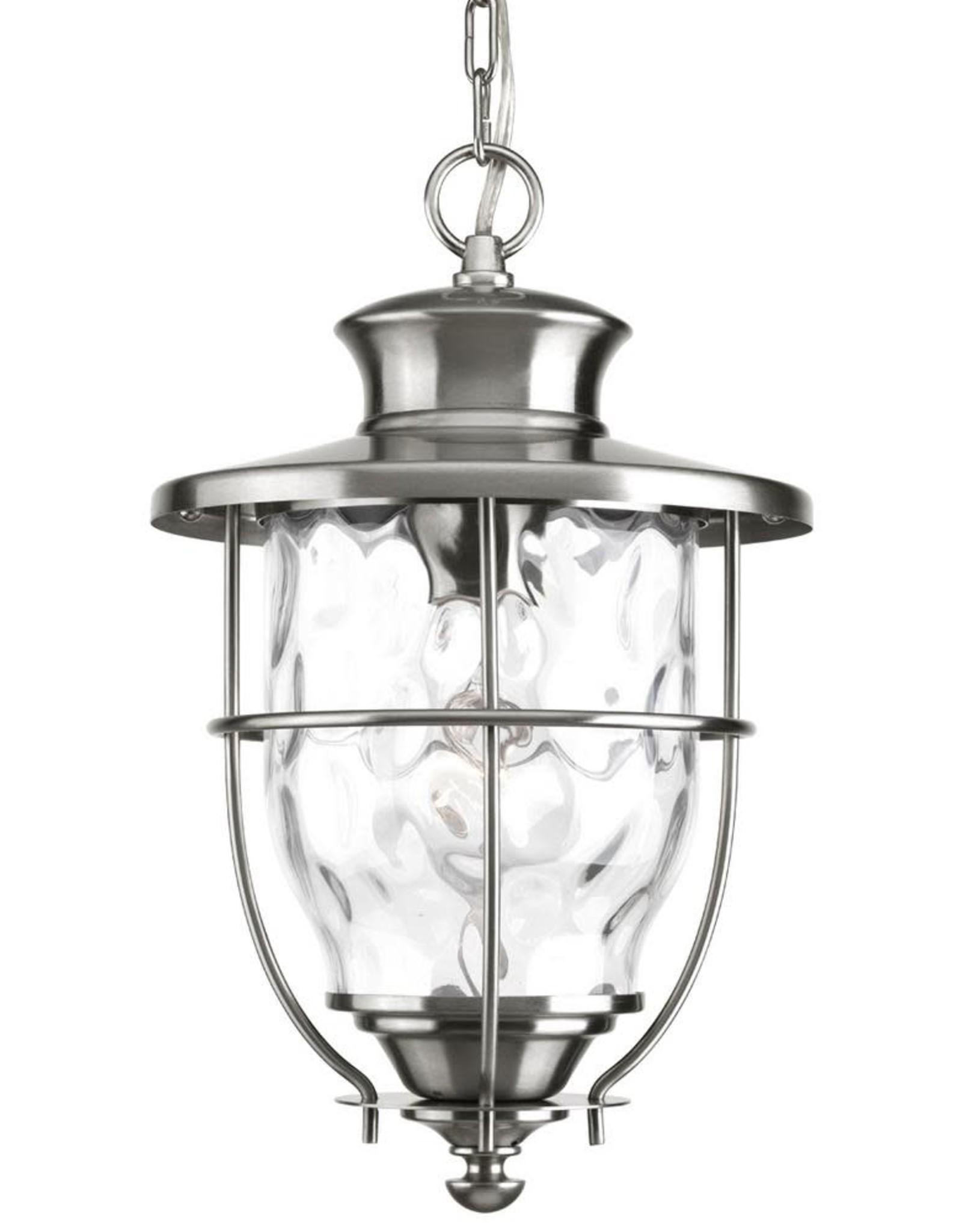 Progress Lighting Beacon Collection Stainless Steel Outdoor Hanging Lantern