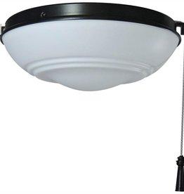 Hampton Bay Raleigh LED Natural Iron Universal Ceiling Fan Light Kit