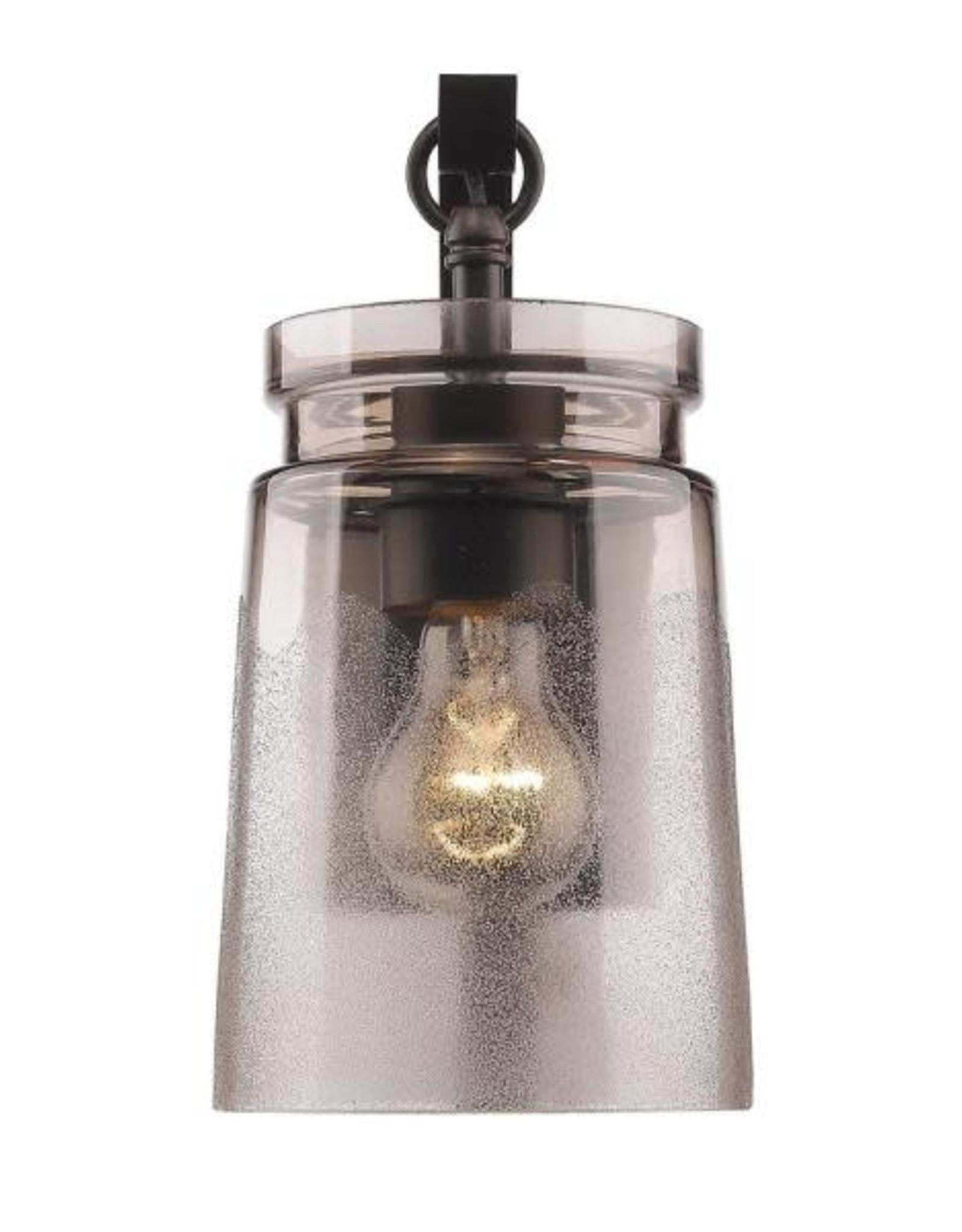 Golden Lighting Travers Rubbed Bronze 1-Light Bath Light