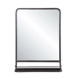 3R Studios Medium Rectangle Black Contemporary Mirror (27.5 in. H x 19.63 in. W)