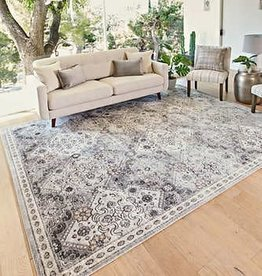 GA GERTMENIAN AND SONS Tempo Area Rug, Beryl Beige 5X7