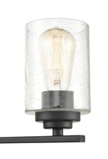 Millennium Lighting 31.125 in. 4-Light Matte Black Vanity Light