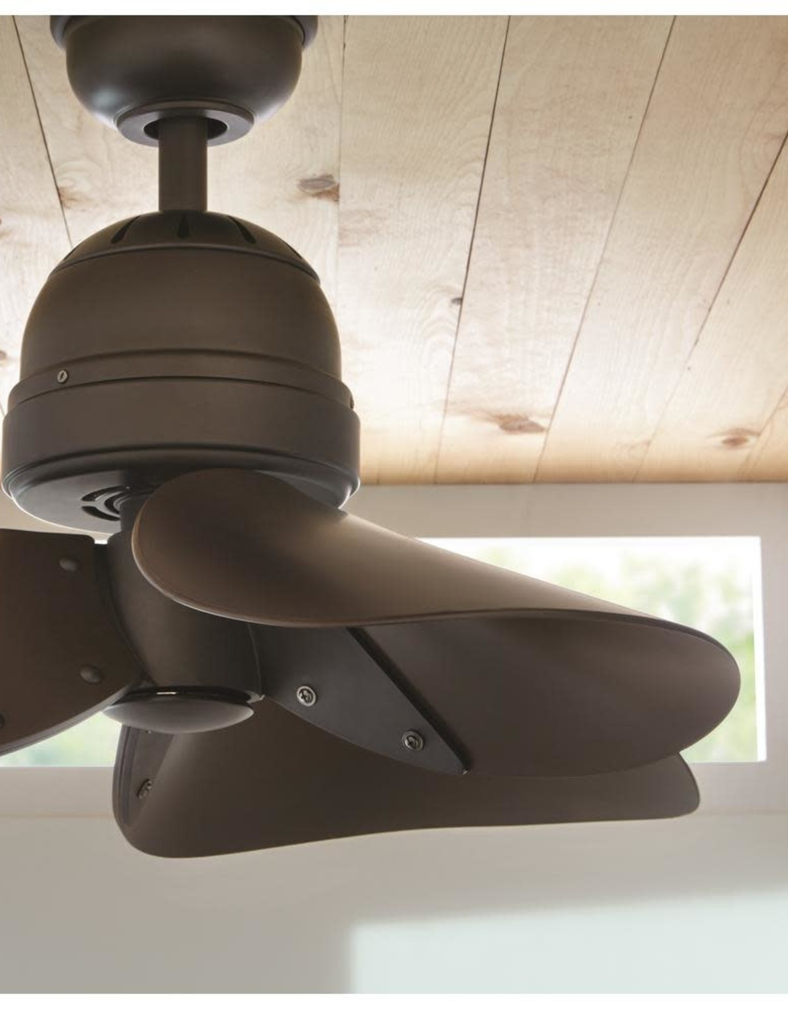 Home Decorators Collection Kyland 32 in. Indoor Espresso Bronze Ceiling Fan with Remote Control