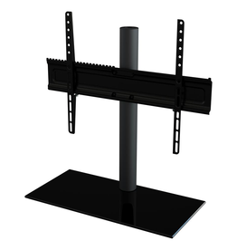AVF Universal Table Top TV Stand/Base Fixed Position for Most TVs 46 in. to 65 in., Black/Black