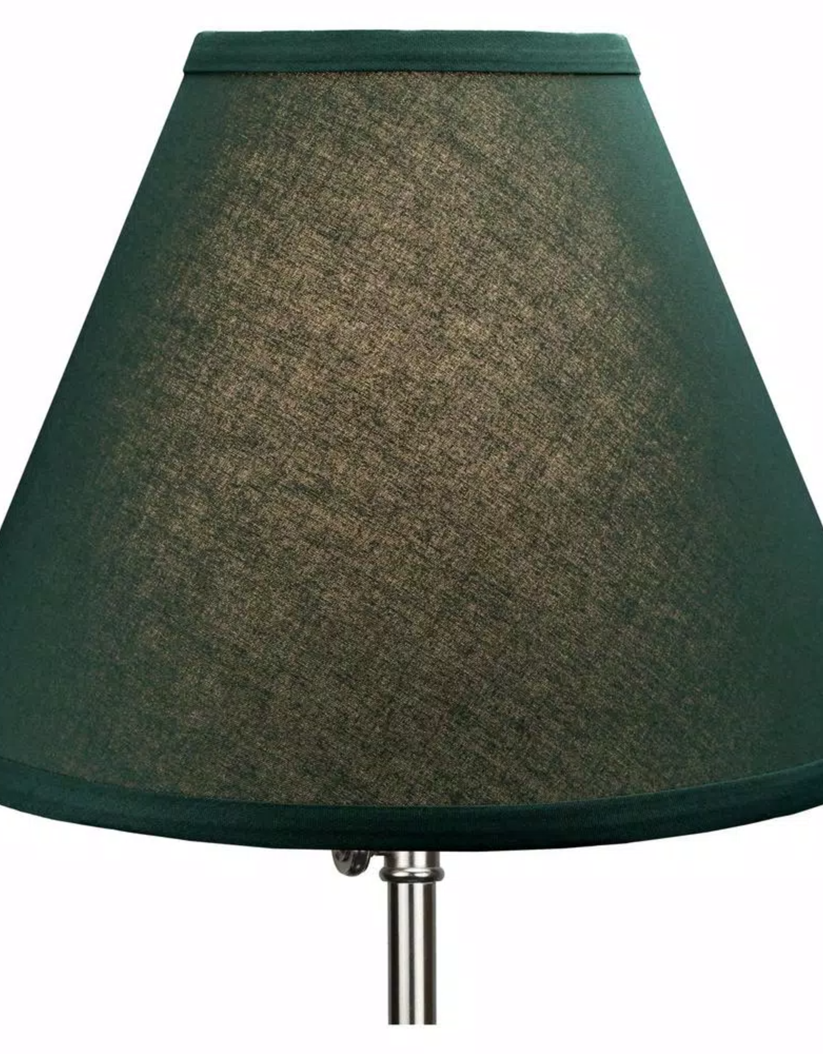 FenchelShades Fenchel Shades 12 in. Width x 8.25 in. Height Hunter Green/Nickel Finish Empire Lamp Shade