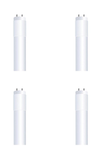 Feit Electric 2 ft. 8-Watt T8 17W/ T12 20W Equivalent Cool White (4100K) G13 Plug and Play Linear LED Tube Light Bulb (4-Pack)