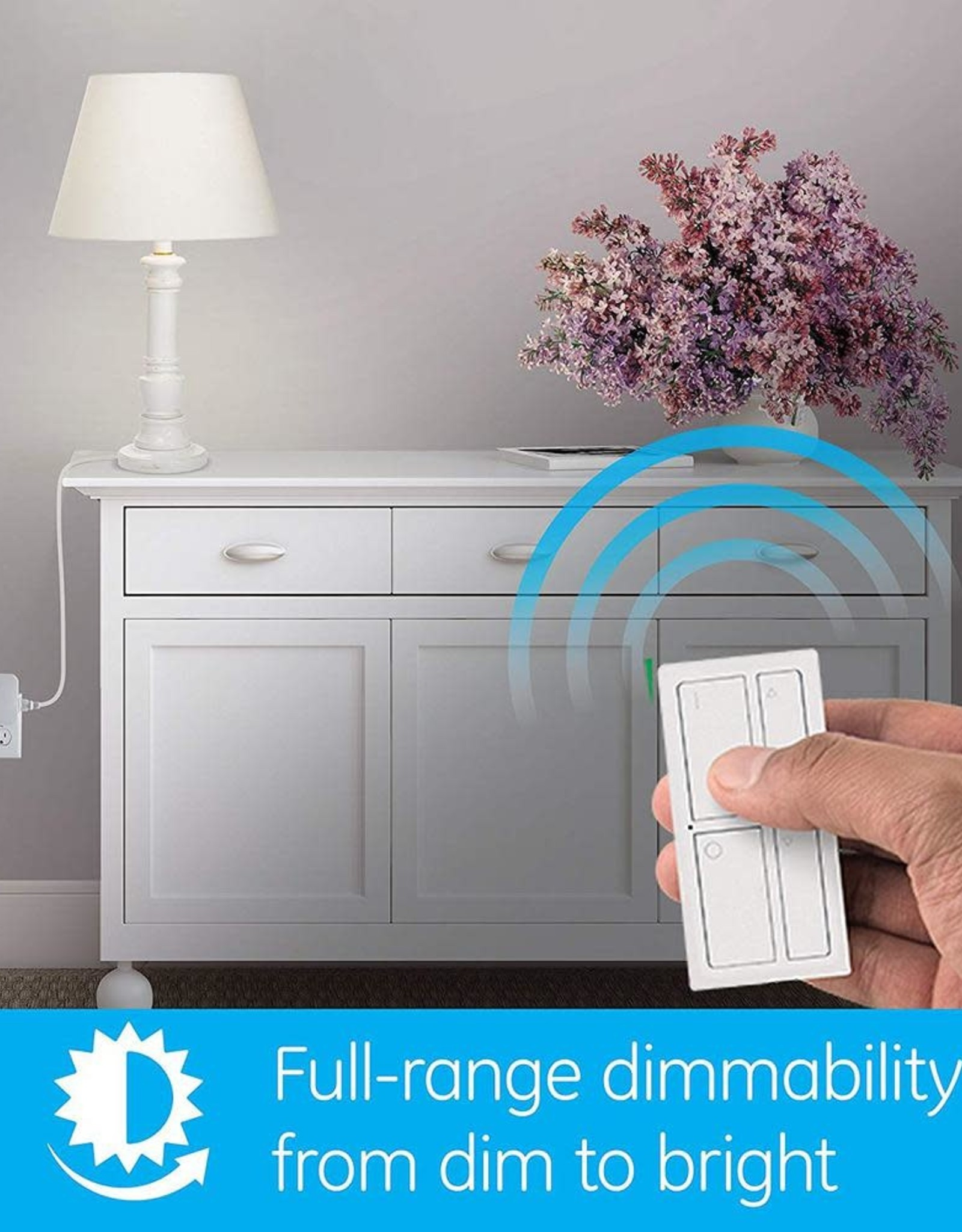 GE MySelectSmart Wireless Remote with Dimming Lighting Control