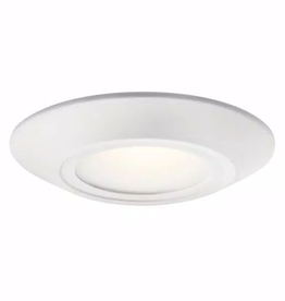 Kichler Horizon II 6.5 in. 3000K White Integrated LED Flush Mount with Glass Diffuser