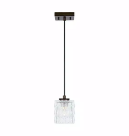 Home Decorators Collection 40-Watt Metallic Bronze Integrated LED Mini-Pendant