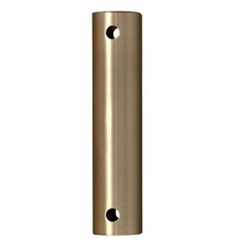 FANIMATION 24 in. Brushed Satin Brass Extension Downrod