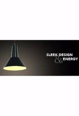 Ledpax Danbury 1-Light Mini Kitchen Island Matte Black Pendant