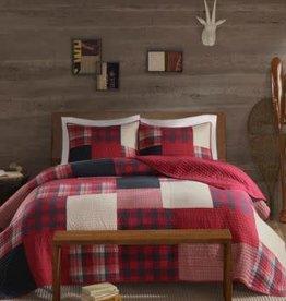 JLA HOME/E & E CO LTD Sunset Reversible 3-Pc. Oversized King/California King Quilt Mini Set