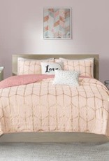 JLA HOME/E & E CO LTD Raina Full/Queen Coverlet Set