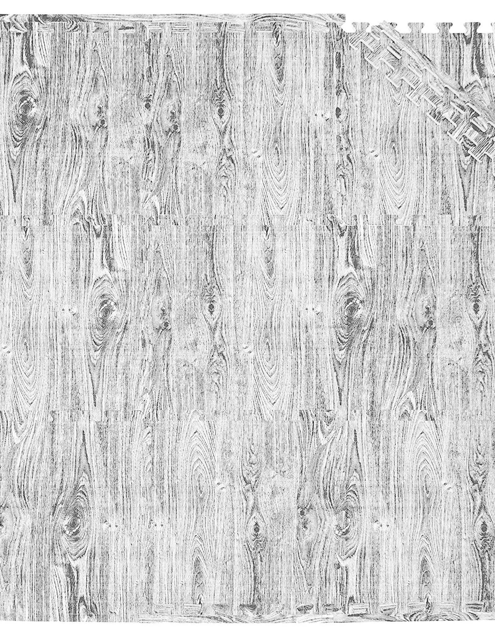 TADPOLE HOME/SLEEPING PARTNER INTL Tadpoles 9 Piece Playmat Set, Grey