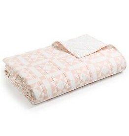 Calvin Klein CK ABIGAIL Queen Quilt Pink