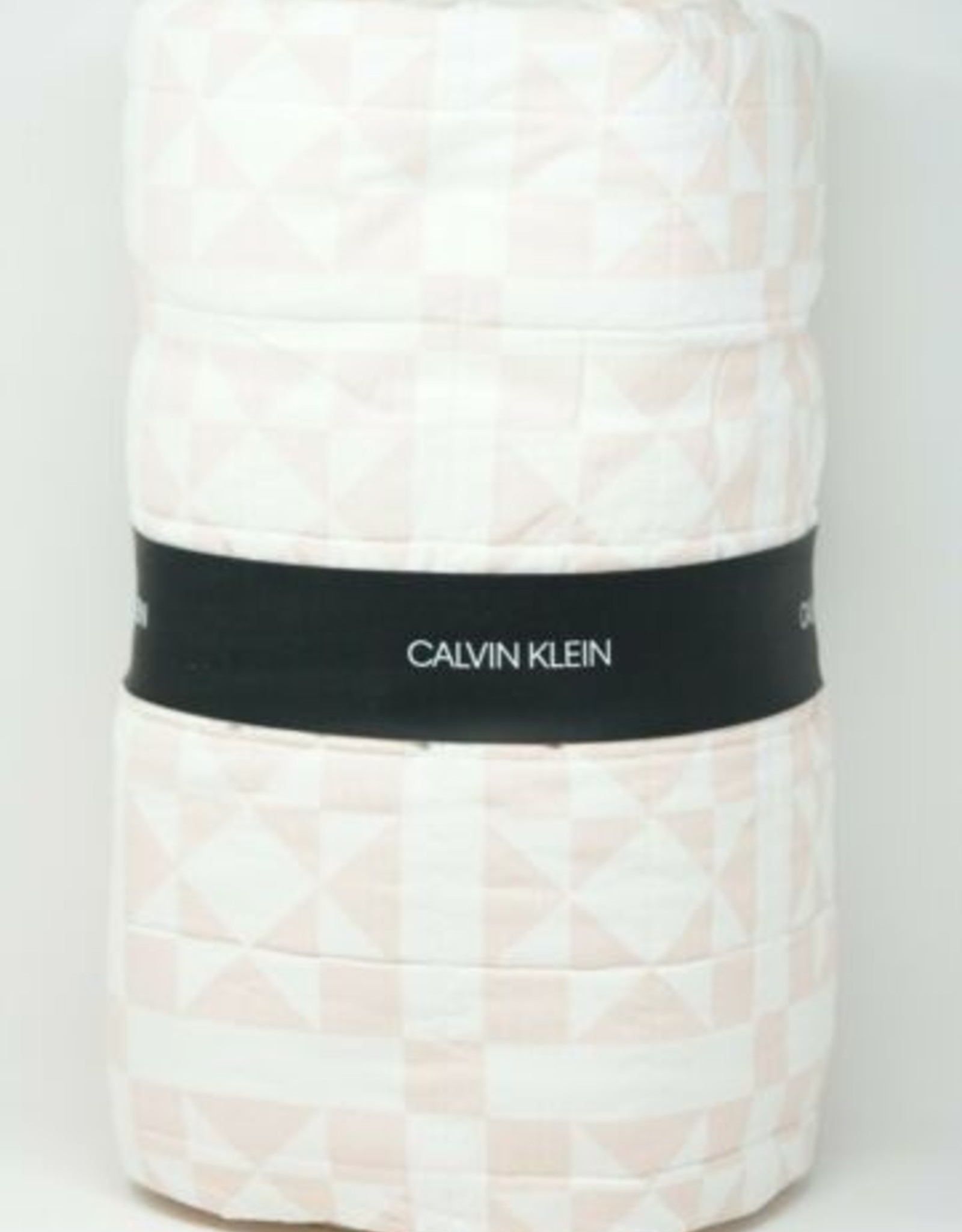 Calvin Klein Abigail King Quilt Pink
