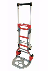 Milwaukee 150 lb. vertical and 300 lb. horizontal Capacity Folding Convertible hand Truck