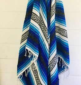 Sea Gypsy California Ocean Dreams Beach Blanket l Mexican Blanket l Throw Blanket