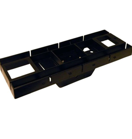 Gibraltar Patriot Plastic, Mailbox Mounting Board, Black