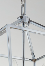 Home Decorators Collection Weyburn 4-Light Polished Chrome Caged Chandelier