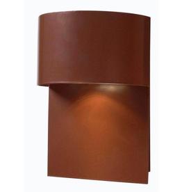 Kenroy Home Moonlit 1-Light Copper Dark Sky Wall Lantern Sconce