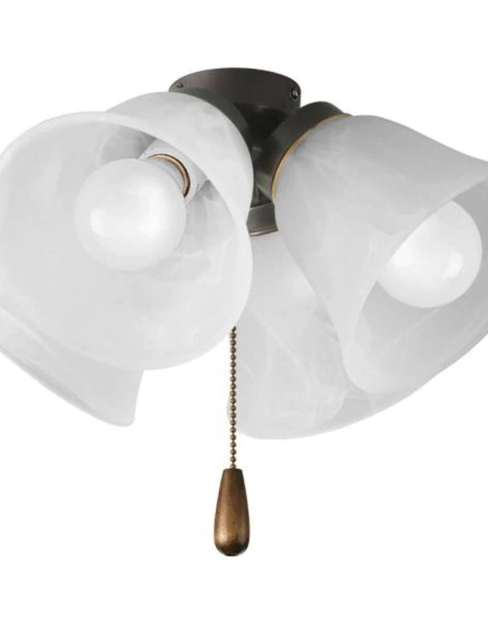 Fan Light Kits Collection 4 Light Antique Bronze Ceiling Fan Light Kit Low Tide Liquidation
