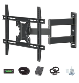 Commercial Electric Full Motion TV Wall Mount Kit for 26 in. - 70 in. TVs
