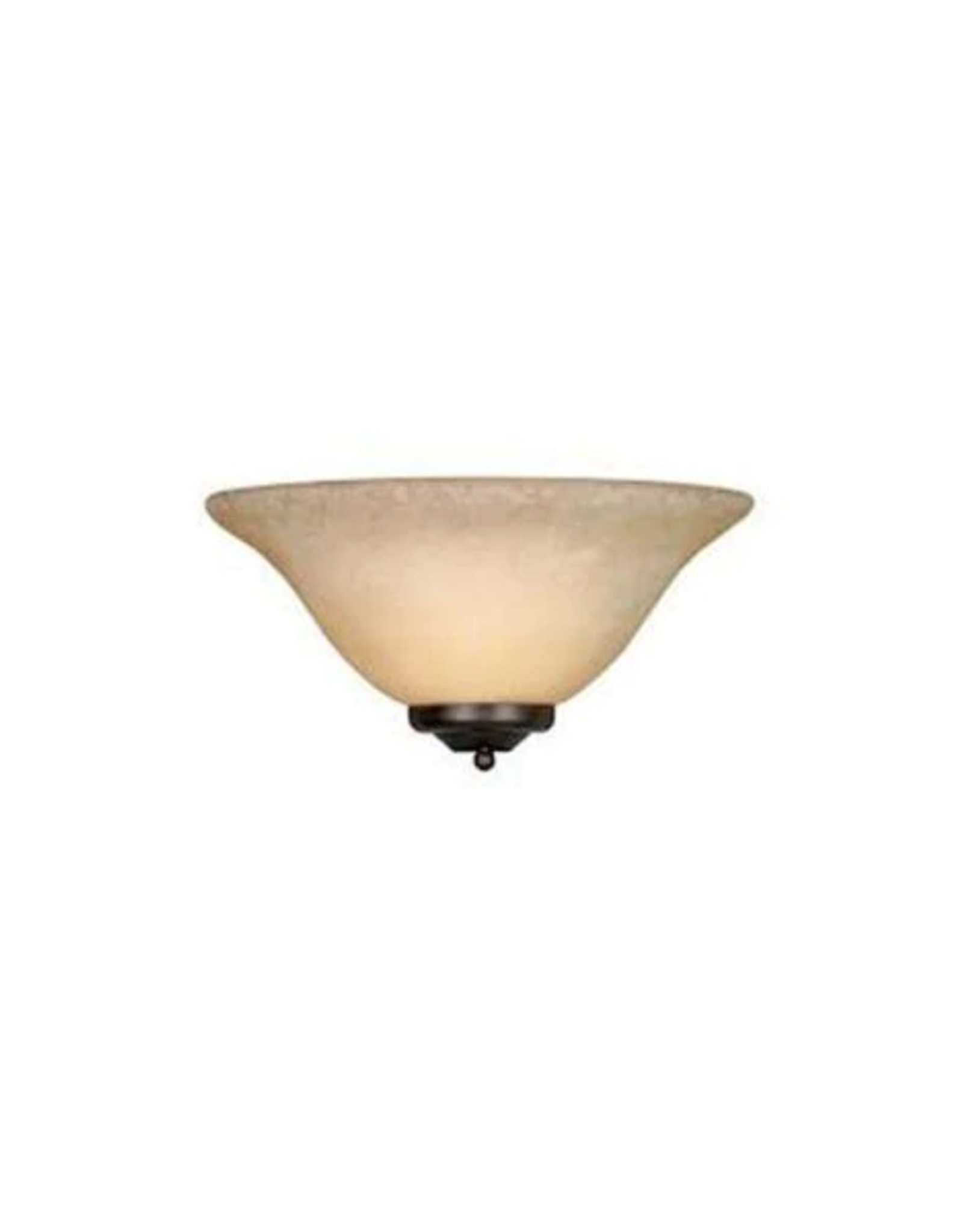 Golden Lighting Maddox Collection 1-Light Rubbed Bronze Sconce