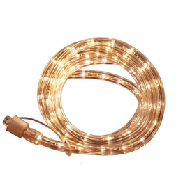 Commercial Electric Outdoor/Indoor 24 ft. Line Voltage (120-Volt) Soft White Flexible Integrated LED Rope Light