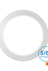 NICOR DSK56 Selectable Series 5/6 in. Surface Mount Integrated LED Recessed Downlight