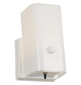 Design House 1-Light White Sconce and Switch