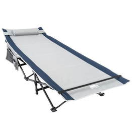 Coastrail Outdoor 28 in. Camping Bed Sleeping Cot, 450 lbs. Capacity