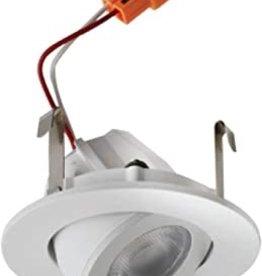 "Elco 2"" LED Adjustable Shower Recessed Trim - 2700K / 650 Lumens"