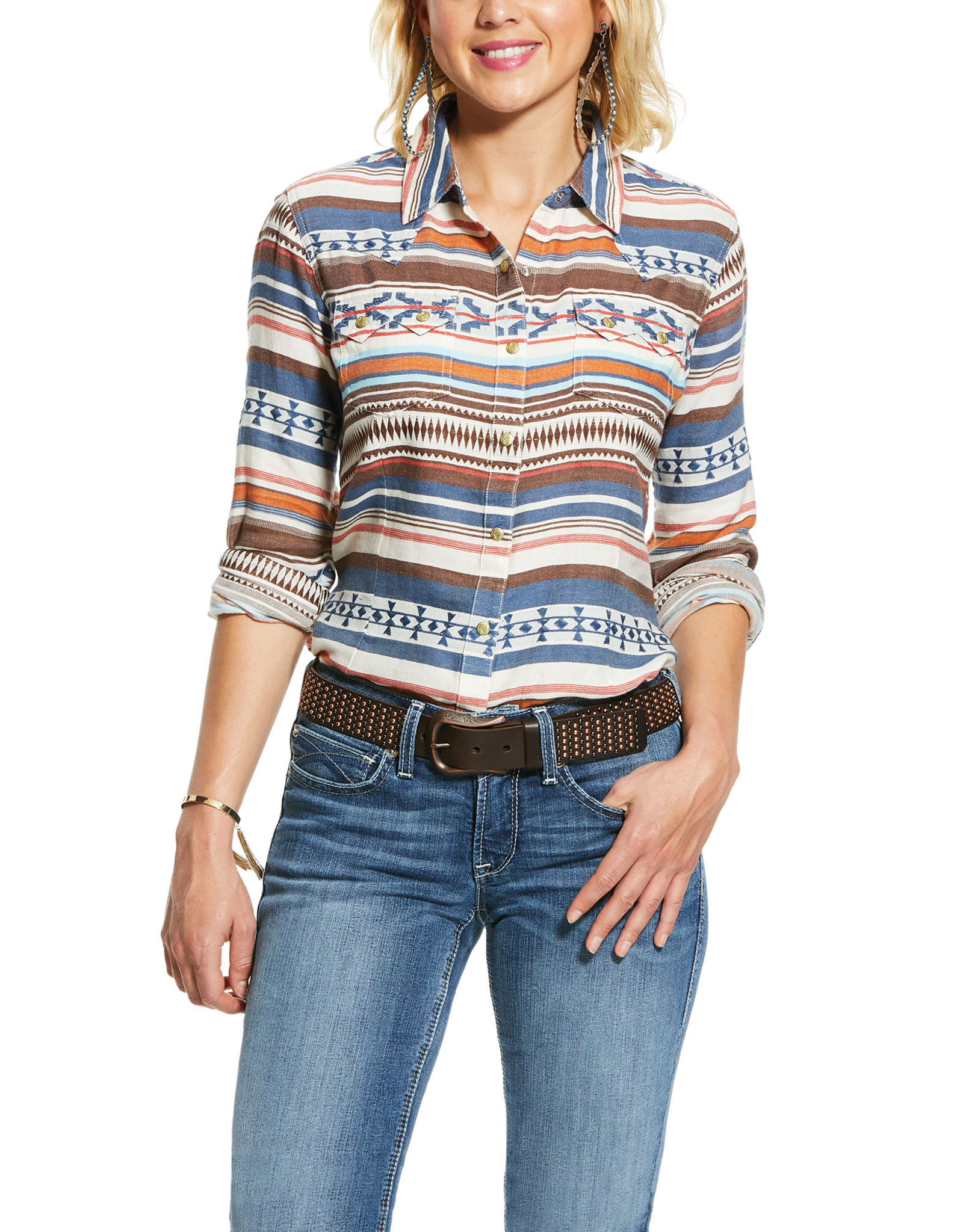 Ariat Ariat WMSTribal Snap LS Shirt
