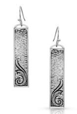 Montana Silversmiths Silver Dangle Misty Meadows Earrings