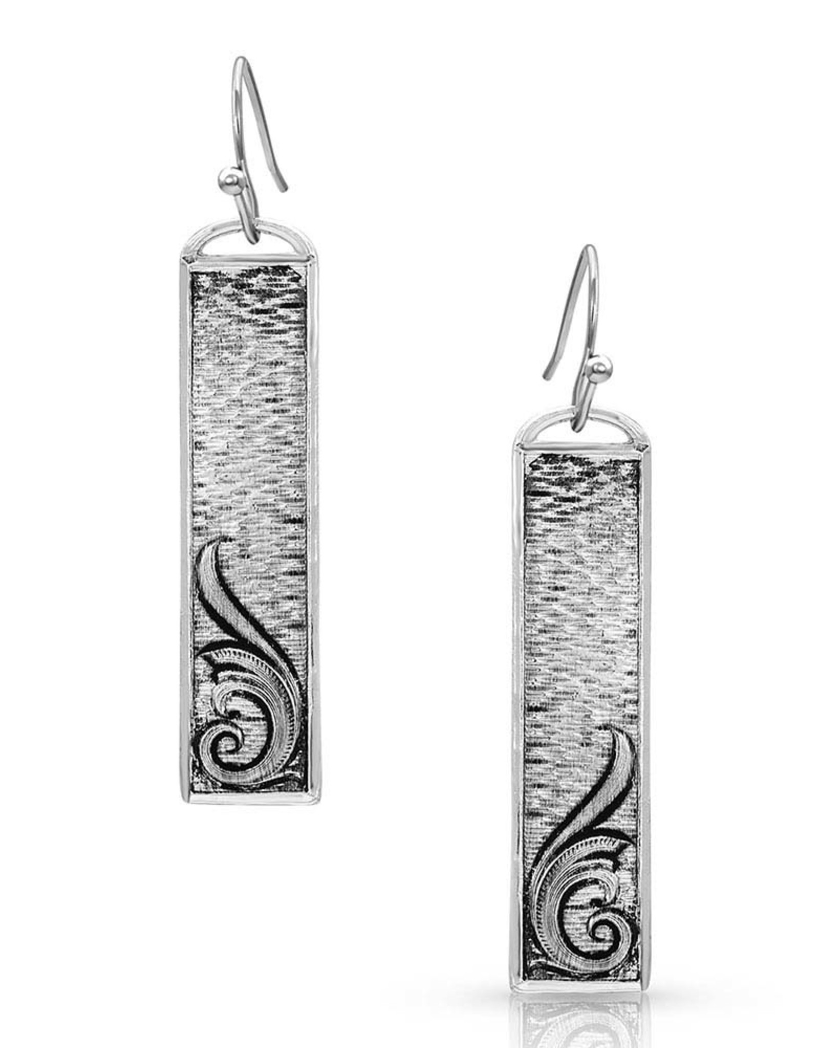 Montana Silversmiths Silver Dangle Misty Meadows Earrings