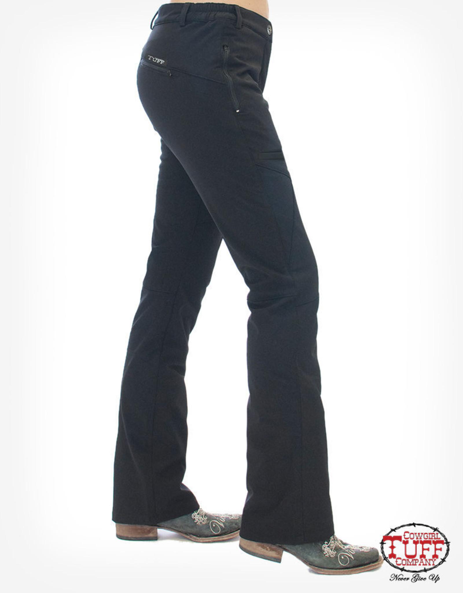 Cowgirl Tuff Work Hard Play Hard Micro Fiber Fleece Lined Pants