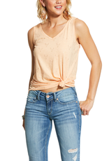 Ariat Ariat Womens Apricot Steer Head Tribe Tank Top