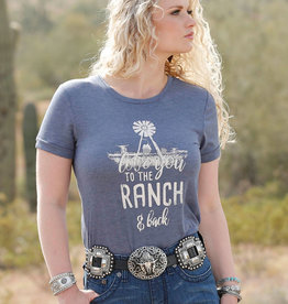 Cruel Denim Love You To The Ranch And Back Tee